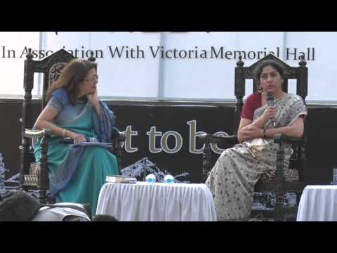 Daman Singh at Tata Steel Kolkata Literary Meet 2015 -- Part 1