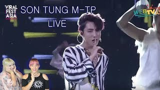 Reaction Time!! // Son Tung M-TP Viral Fest Asia 2017 Performance *How Can You Not Fall In Love*