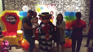 Birthday Party in McDonald's | World Trade Center Abu Dhabi | Adam and Burglar McDonald's | P2