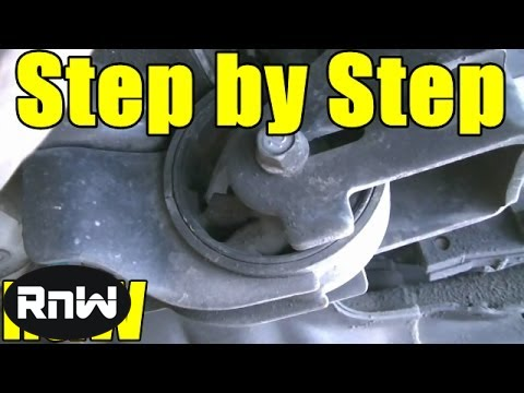how to diagnose and replace a motor mount
