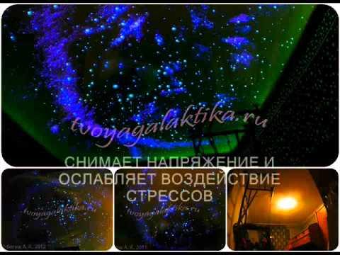 Звездное небо на потолок Твоя Галактика