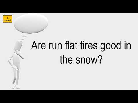 are-run-flat-tires-good-in-the-snow?