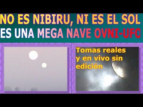 Falso Nibiru y falso sol - Es una mega nave! It´s a Mega UFO! Miralo por ti mismo!