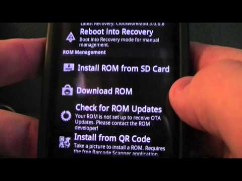 Flash Cyanogen Mod 7 Rom on your Droid Incredible