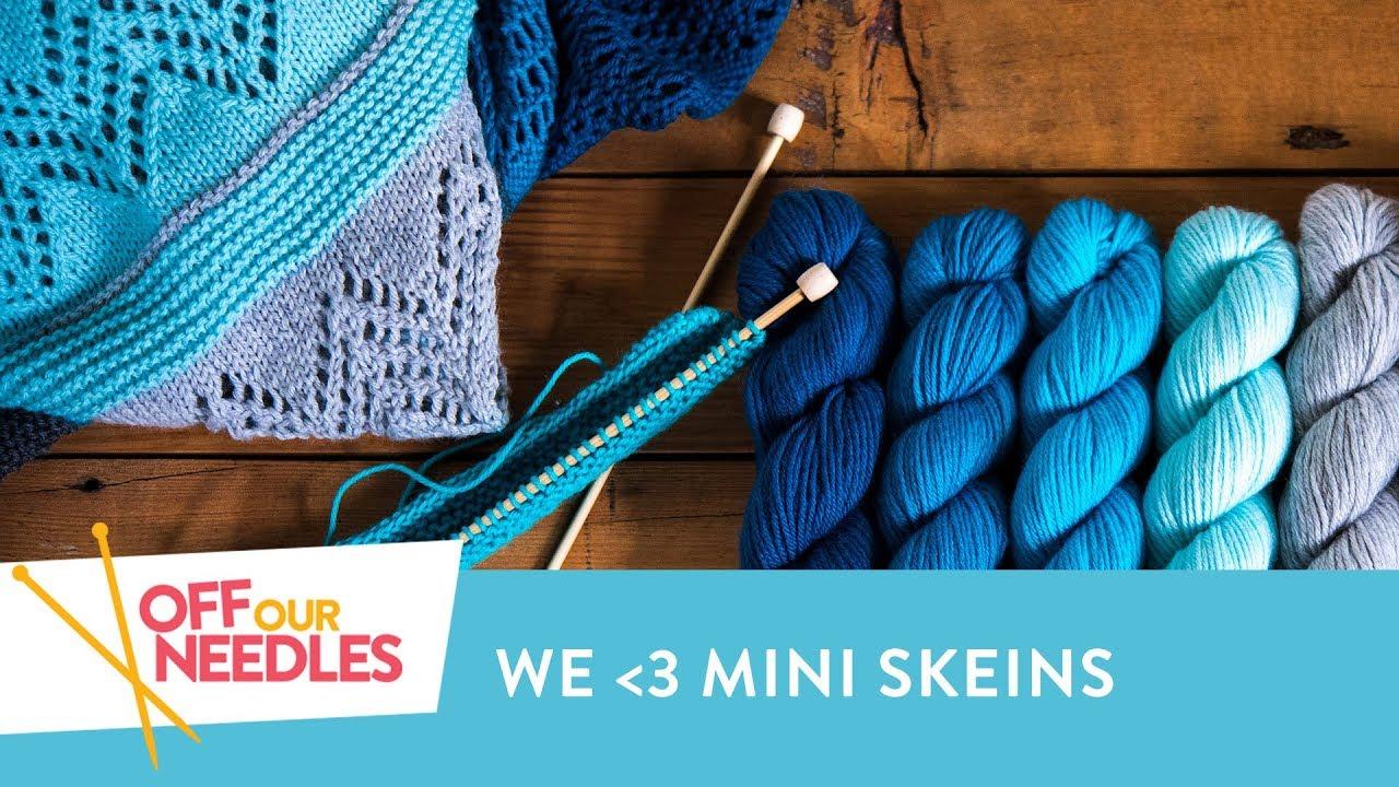 Knitting Goddess Mini Skeins : Miniskeinmania mini skein knitting pattern inspiration