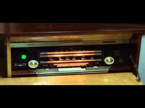Primera recepción Radio Philips F7SA58A - [HD]