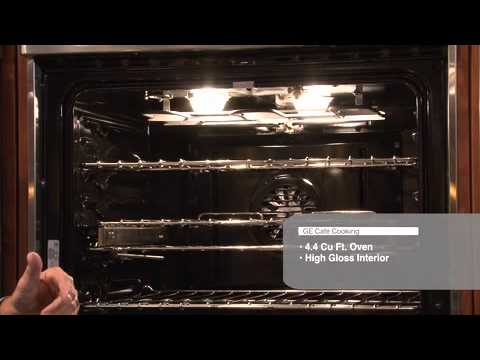 Wall Ovens Single And Double Ge Cafe Ovens Youtube