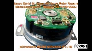 sanyo denki bl super ac servo motor repairs advanced micro services pvt ltd bangalore india