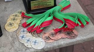 Чемпионат по стрельбе из штатного оружия проходит на базе военного факультета ГрГУ имени Янки Купалы