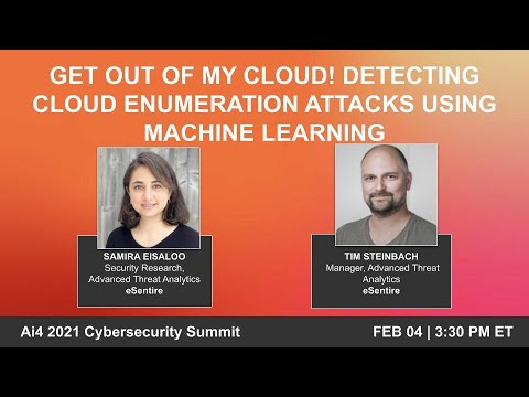 Get out of my cloud! Detecting cloud enumeration attacks using Machine Learning