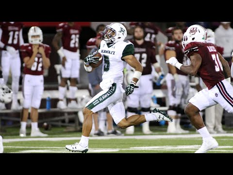 Ursua's huge night helps Hawaii's comeback win over UMass