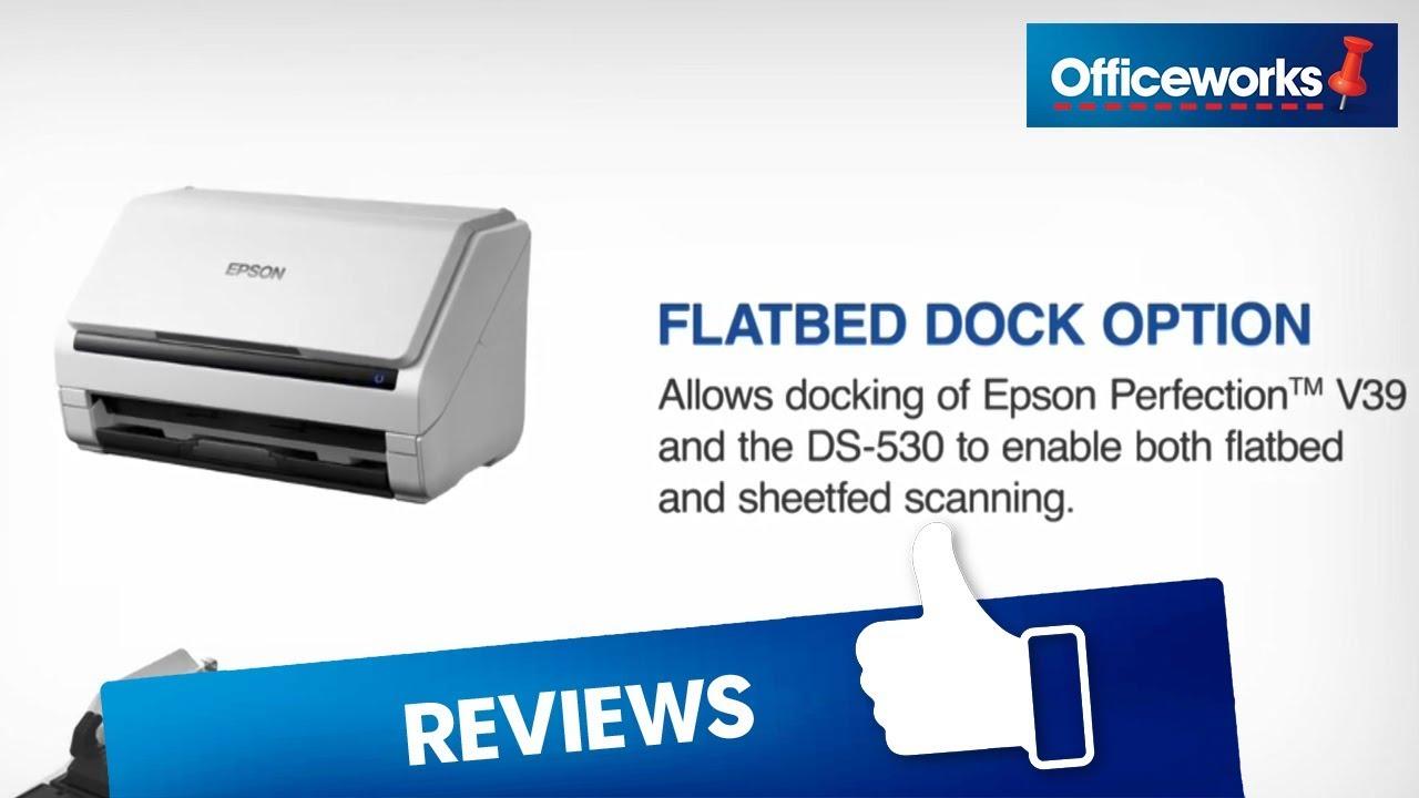 Epson WorkForce Document Scanner DS-530