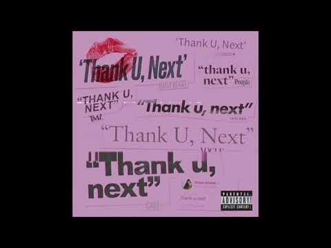 Ariana Grande - thank u, next [MALE VERSION]