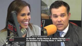 Wsb Tv S Jovita Moore And Justin Farmer Read The Letter Found On The Copy Machine At 92 9 The Game Youtube