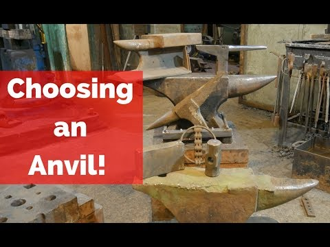 What to Look For when Choosing your first anvil!! Tip for anvil selection!