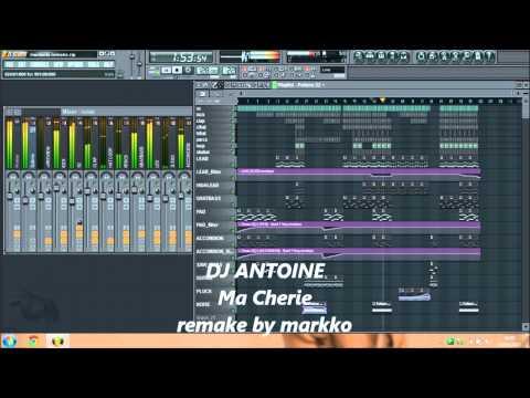 DJ Antoine - Ma Chérie (markko remake - instrumental - karaoke version)