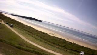Repeat youtube video Vidéo AR.Drone 2.0: 2012/08/08 L'aber et la baie de Douarnenez