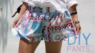 DIY Aprender a coser pantalones sencillos con patrón incluido thumbnail