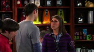 The Big Bang Theory - Sheldon meets his date.