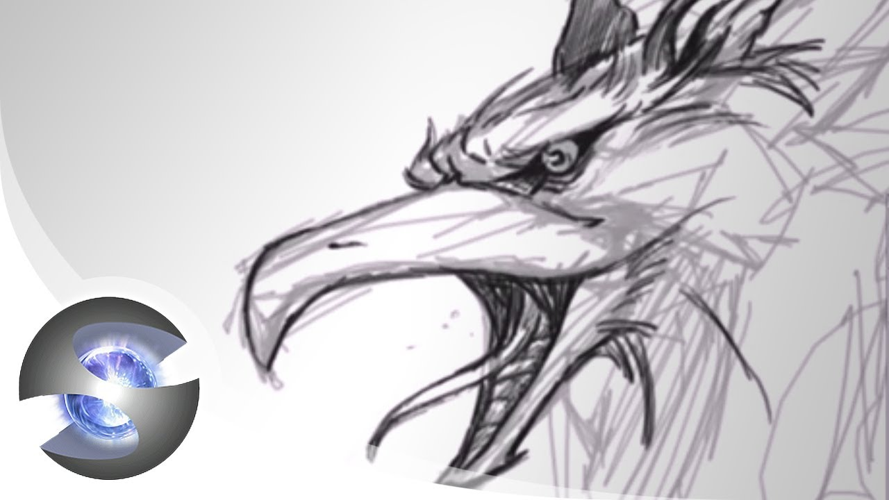 Griffon Drawing Part 1 Of 3