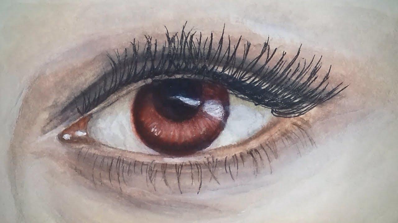 bella swan vampire eyes watercolor painting vampire eye