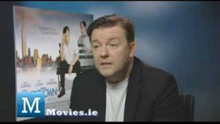 Ricky Gervais gets angry at Louis Walsh from X Factor