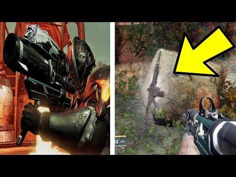 DESTINY 2 SECRET EXOTICS! Gjallarhorn & Khvostov Sneaky Return, & More