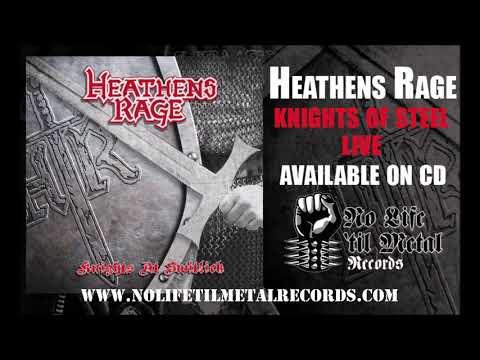 Heathens Rage - Knights of Steel - 1985 Live - Knights at Switlik