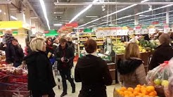 flash mob @ Savonlinna Citymarket