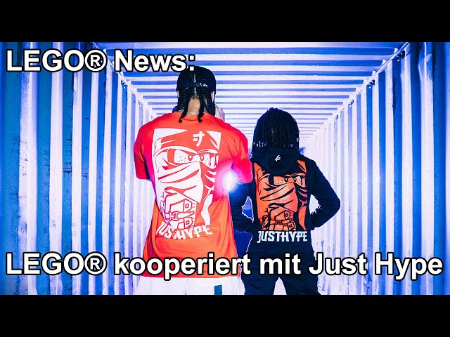 News: LEGO® kooperiert mit Just Hype Streetwear Label