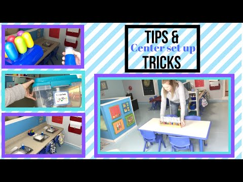 How To Set Up Centers In Your Daycare Or Preschool