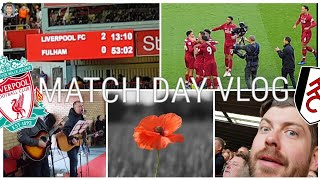 Shaqiri Stunner and Anfield Remembers... LIVERPOOL 2-0 FULHAM | MATCHDAY VLOG