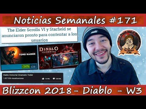 Noticias semanales #171 - ¡ACTIVISION BLIZZARD se CAGA en DIABLO! - Diablo Inmortal - Blizzcon 2018