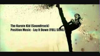 YouTube   The Karate Kid theame song   Position Music  Lay It Down Full Song