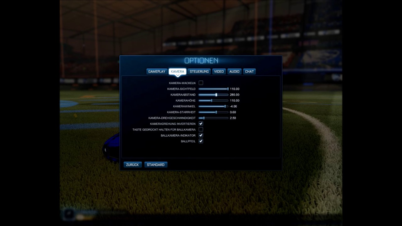 Best Camera Settings For Rocket League | Gearbroz