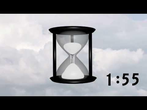 Hourglass 5 Minute Countdown