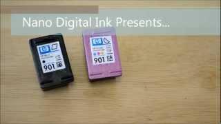 How to Refill HP 901(www.nanodigitalink.com., 2012-08-26T03:47:24.000Z)
