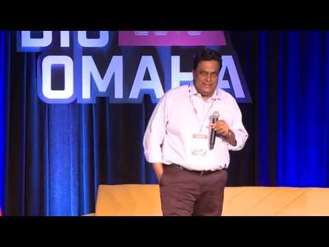 Balaji Prabhakar speaks at Big Omaha 2015