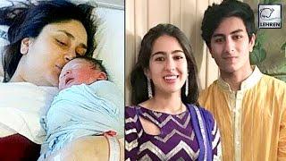 Cover images Saif's Kids FIRST REACTION On Taimur Ali Khan | Kareena Kapoor | LehrenTV
