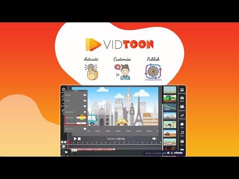 VidToon Working -Lifetime Deal on DealMirror