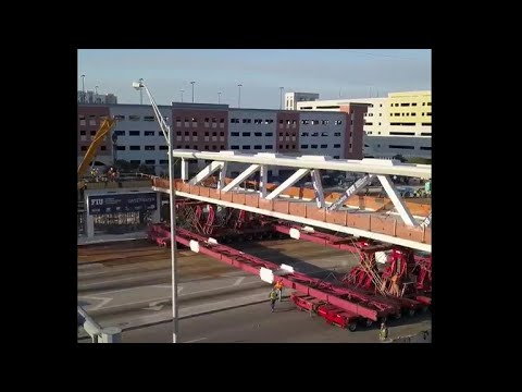 Miami bridge that collapsed was built to withstand a hurricane