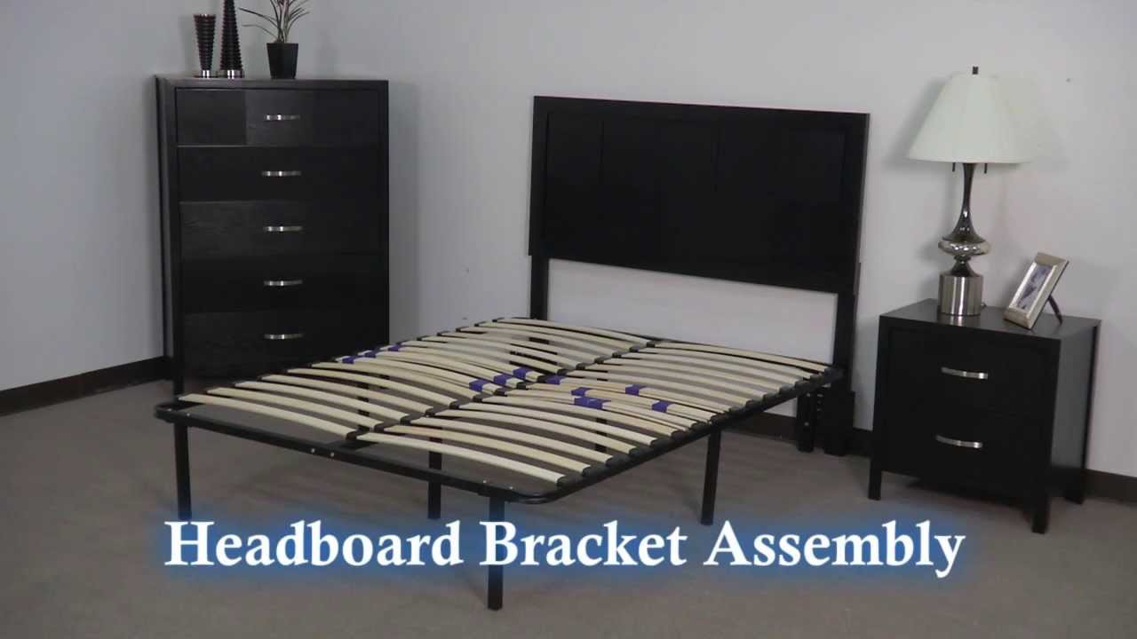 Headboard Footboard Brackets For Platform Frame With Slats