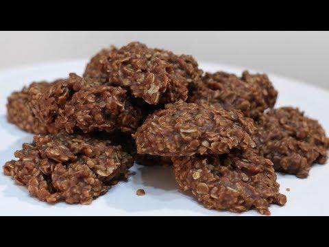 How To Make No Bake Chocolate Oatmeal Cookies | Easy No Bake Cookies Recipe