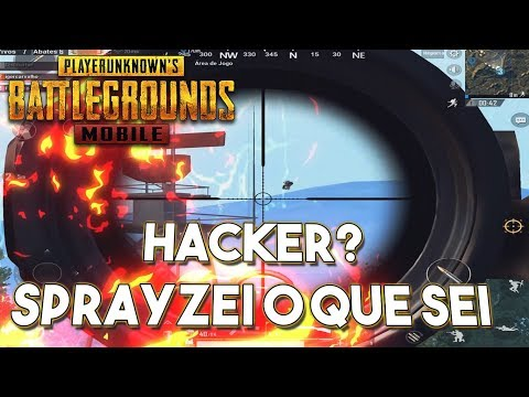 HACKER DE FLY? JOGUEI NO ESTILO SPRAYGG - PUBG MOBILE [LIGHTSPEED]