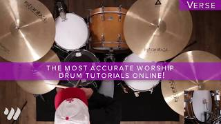 Great Are You Lord - All Sons & Daughters - Drum Tutorial
