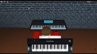 In The Bleak Midwinter by: Gustav Holst on a ROBLOX piano.