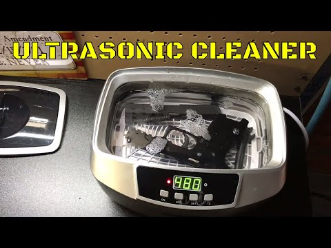 Cleaning my Sig P320 in an Ultrasonic Cleaner