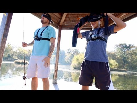 Fishing while Blindfolded???