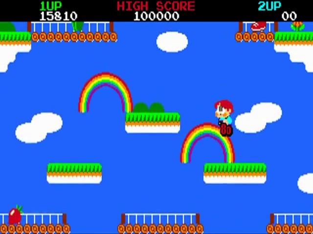 Jouez à Rainbow Islands sur Commodore Amiga avec nos Bartops et Consoles Retrogaming