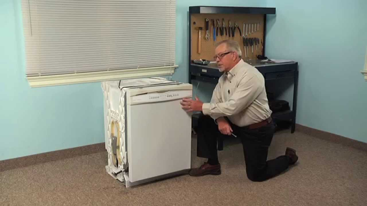 Dishwasher Repair - Replacing the Drain Hose (Whirlpool Part # W10545278)